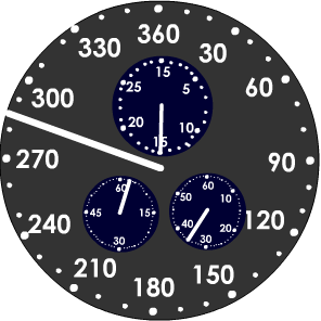 New Earth Time clock