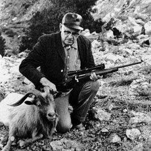 P.O. Ackley Gunsmith, author and columnist