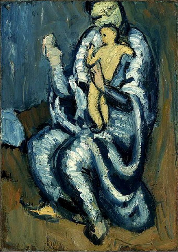 File:Pablo Picasso, 1901-02, Maternité (Motherhood), Private ...