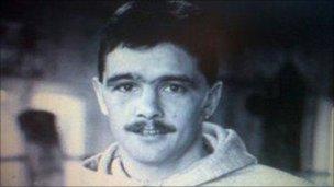 Robert Dickie Wales boxer