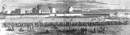 Union Grounds in 1865