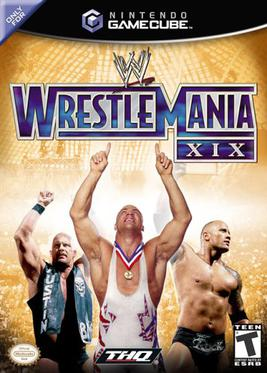 Image result for wrestlemania xix game
