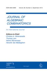 <i>Journal of Algebraic Combinatorics</i> journal