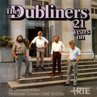 <i>21 Years On</i> 1983 live album by The Dubliners