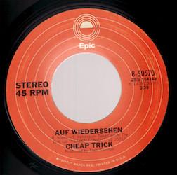Auf Wiedersehen (song) 1978 single by Cheap Trick