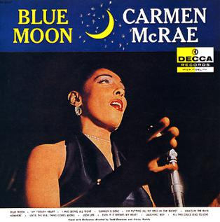 Carmen McRae With The Tony Scott Quartet Tony Scott Quartet Carmen McRae