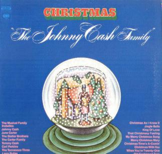 The Johnny Cash Family Christmas artwork