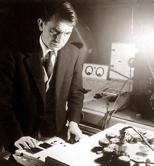 Portrait of Pierre Schaeffer