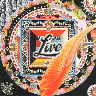 <i>The Distance to Here</i> 1999 studio album by Live