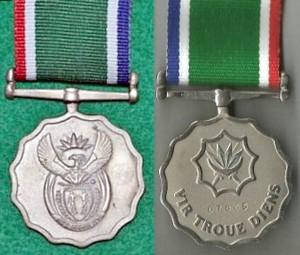 Medalje vir Troue Diens