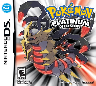 Picture of a game: Pokémon Platinum