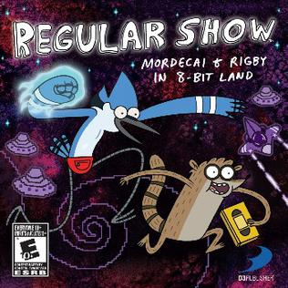 Regular Show Mordecai And Rigby In 8 Bit Land Wikipedia