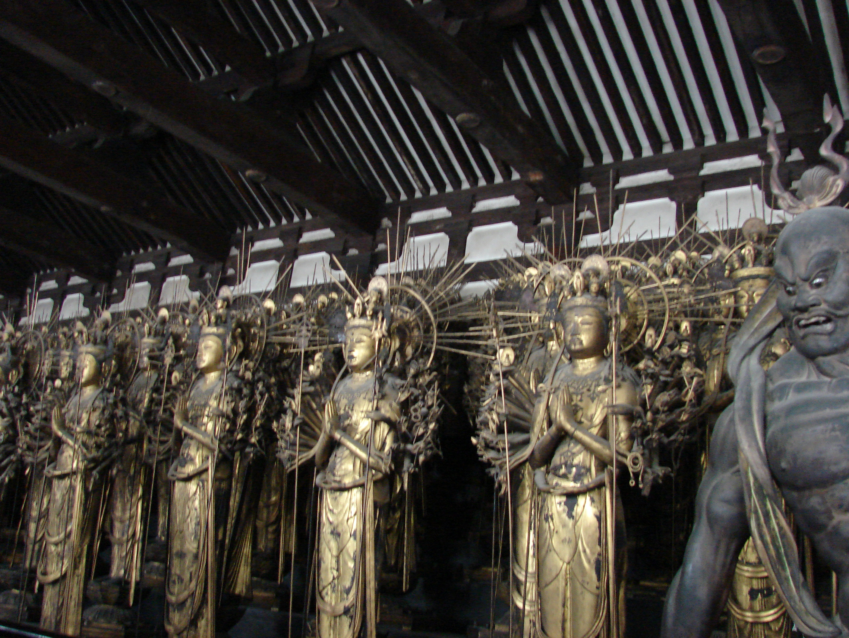 File:Sanjusangendo statues kyoto.JPG - Wikipedia