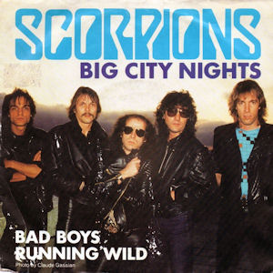 Big City Nights (song) 1984 single by Scorpions