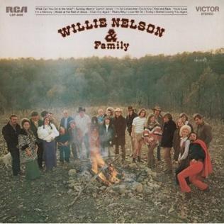 1971 studio album by Willie Nelson