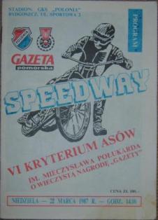 1987 Mieczysław Połukard Criterium of Polish Speedway Leagues Aces