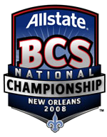 2008 BCS National Championship Game annual NCAA football game