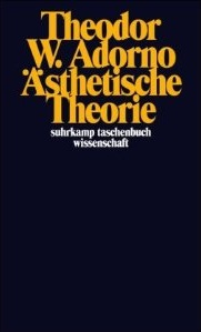 <i>Aesthetic Theory</i> book by Theodor Adorno