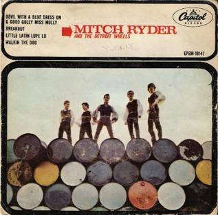 Devil with a Blue Dress On 1966 single by Mitch Ryder and The Detroit Wheels