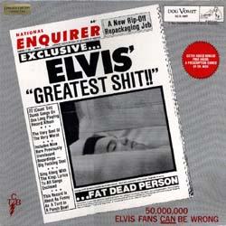 <i>Elvis Greatest Shit</i> compilation album