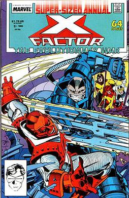 What If...The Avengers Lost the Evolutionary War 1989, Marvel #1