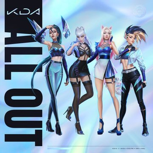 <i>All Out</i> (EP) 2020 EP by K/DA