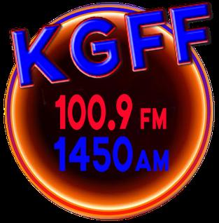 KGFF Radio station in Shawnee, Oklahoma