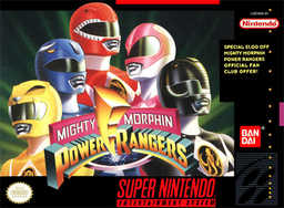 <i>Mighty Morphin Power Rangers</i> (video game)