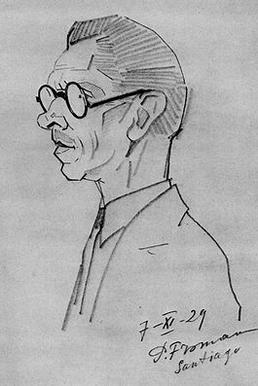 A Drawing of Nicholas Grigorovich Sergeyev, made in 1929. Although the collection mostly documents the ballets of Marius Petipa, the collection is named after Sergeyev.