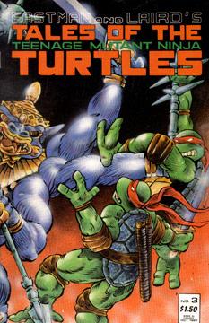 Tales of the Teenage Mutant Ninja Turtles #3. ...