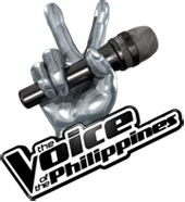 The Voice of the Philippines' official logo.