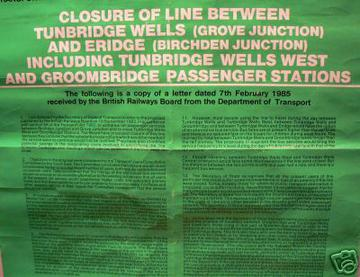 1985 Closure Notice Tunbridge Wells West Closure Notice.jpg