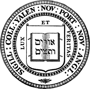 Official seal used by the College and the University Yale seal.png
