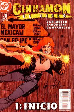 Cinnamon (comics) - Wikipedia