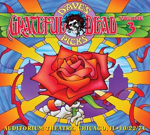 <i>Daves Picks Volume 3</i> 2012 live album by Grateful Dead