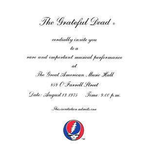 <i>One from the Vault</i> 1991 live album by Grateful Dead
