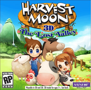 <i>Harvest Moon: The Lost Valley</i> video game for the Nintendo 3DS
