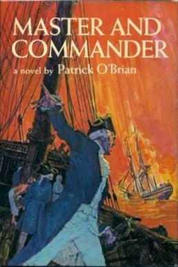 Cover by Geoff Hunt for Master and Commander.