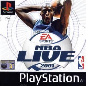 <i>NBA Live 2001</i> 2000 NBA video game