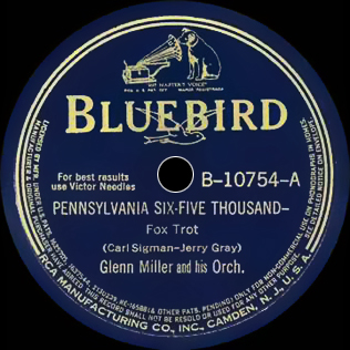 PEnnsylvania 6-5000 (song) 1940 song by Jerry Gray and Carl Sigman
