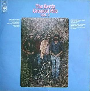 <i>The Byrds Greatest Hits Volume II</i> 1971 greatest hits album by The Byrds