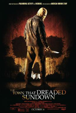 The Town That Dreaded Sundown 2014 poster