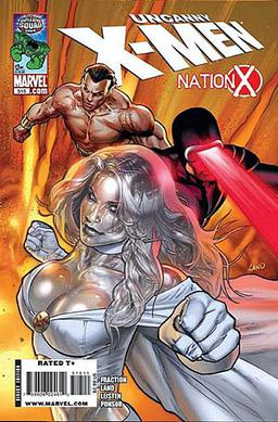 Cover of The Uncanny X-Men 515 (Nov 2009). Art by Greg Land.