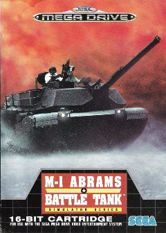 Abrams Battle Tank box cover (European)