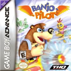 Come race with #Banjo on a plan in #BanjoPiolet! #GameBoyAdvance
