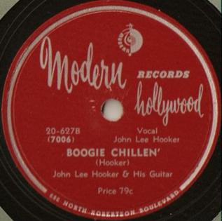 Boogie Chillen single by John Lee Hooker