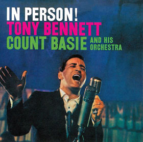 <i>In Person!</i> 1959 studio album by Tony Bennett with the Count Basie Orchestra