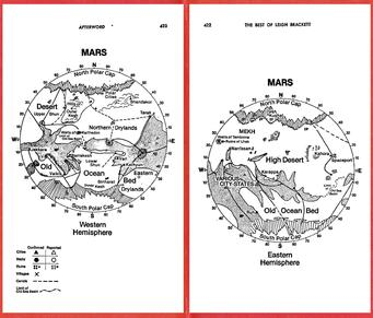 printable map of planet mars - photo #23