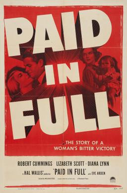 Fashions Of 1934 Full Movie Paid in Full film