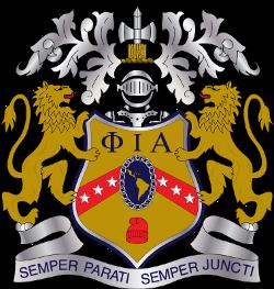 Crest of Phi Iota Alpha Fraternity